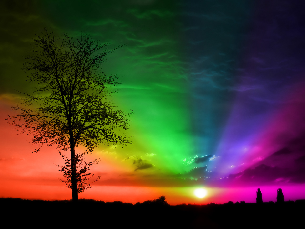 7 colors of the rainbow