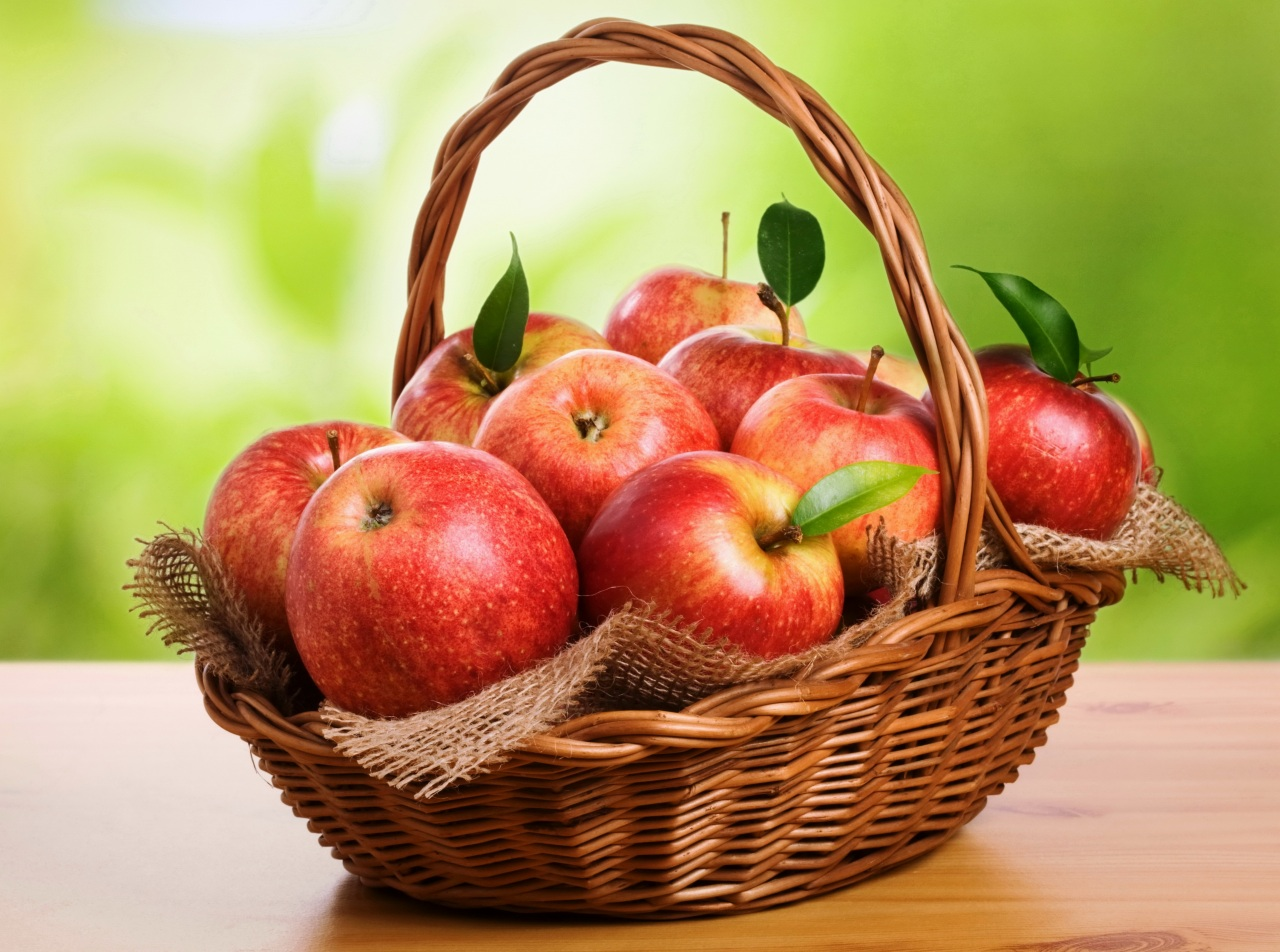 obsession with basket of apples