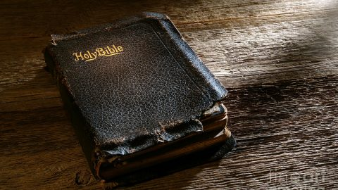 The Family Bible Is Supposed To Be Worn