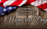 Happy Memorial Day 2020